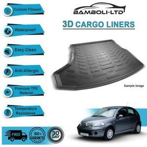 3D CARGO LINER BOOT LINER REAR TRUNK MAT FOR CITROEN C3 2002-2009