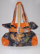 Camouflage Camo & Blaze Orange Purse, New