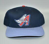 Anaheim Angels MLB Vintage 90's Logo Twins Enterprise Snapback Cap Hat - NWT