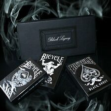 Bicycle Black Legacy Boxed Set by Ellusionist Poker Spielkarten
