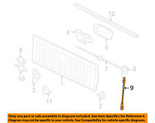 GM OEM Tail Gate Tailgate Hatch-Check Cable Strap Left 88980510
