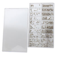 500pcs Mixed Sizes Watch Case Tubes Pipes for Waterproof Crown Assortment