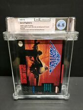 Aero Fighters (Super Nintendo, 1994) Wata Graded 6.5 Complete with Poster