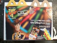 McDONALDS HAPPY MEAL  TOYS, TOY STORY 4    2019     ( HAPPY MEAL BOX )