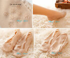 Anti Non Slip Silicone Lady Boat Loafer Invisible Liner Lace Cotton Low Cut Sock