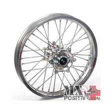 RUOTA COMPLETA KTM SX-F 450 2007-2012 HAAN WHEELS 2,15 - 19'' mozzo argento/cerc