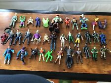 VINTAGE LOT of 37 ASSORTED ACTION FIGURES and PIECES