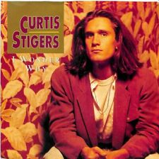 "Curtis Stigers - I Wonder Why - 7"" Record Single"