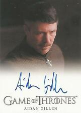 "Game of Thrones Season 3 - Aidan Gillen ""Petyr Baelish"" Autograph Card"
