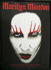 Marilyn Manson Patch/ricamate # 16 Marilyn face - 10x7cm
