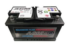 12 Volt 80Ah 800 Amp AGM Car Battery | 12V 800 Stop Start Battery 115 Battery