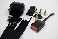 Black Universal 3 Point Inertia Seatbelt with wire buckle - Car, Van, Coach