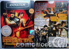 Resident Evil 5 CG Episode 1-53 End JPN DVD Game Collection