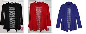 NWT $40 Girls IZ Amy Byer Chevron Dressy Glitter Lace Cozy Top Sizes 7-16 CHURCH