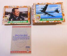 Vintage 1991 Topps Desert Storm 1st Series Cards complete set 1-88