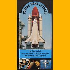 Livre animé VOYAGE DANS L'ESPACE 1999