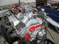 SBC Chevy 383 STROKER ENGINE 562 HP Crate Motor