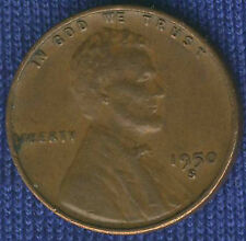 FINE ~ 1950-S Lincoln 99 CENTS most Wheat Penny FREE SHIP 3 diff coin minimum