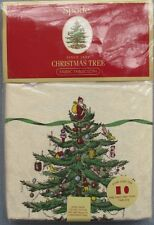 Spode Christmas Tree Tablecloth 60 X 84 New In Package