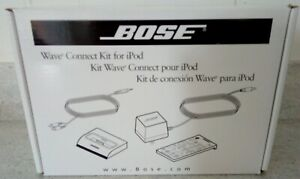 BOSE Wave Connect Kit for iPod #315527-0020  (Untested)