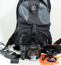 Sony Alpha A700 12.2MP Digital SLR Camera Body Only and Items Shown