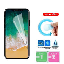 For Apple iPhone 12 11 XS Max XR SE 7+ 6S Plus 5S creen Protector Soft Nano Film