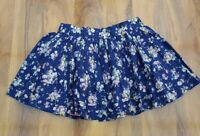 Mini Boden Girls Gorgeous Cotton floral lined Skirt. Size XL. Brand new.
