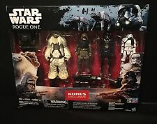 Star Wars Rogue One Exclusive 4-pack Death Trooper Moroff Pao Stormtrooper Kohls