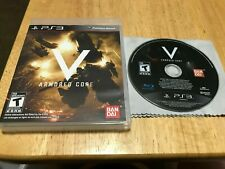 Armored Core V Sony Playstation 3 PS3 System Game 5 & Box