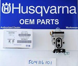 Husqvarna OEM Leaf Blower Carburetor 504116101 Fits 130BT and Redmax