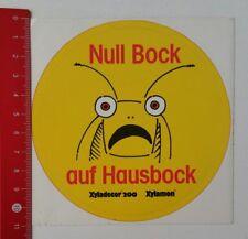 Pegatina/sticker: Null en Bock hausbock-Xyladecor 200-xylamon (210217107)
