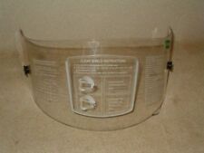 """Racer-1"" Replacement Clear Face Shield for KBC Helmet"