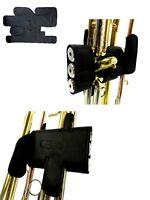 Handschutz / Schoner für Trompete aus Echtleder (Klettverschluss)