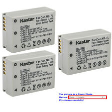Kastar Replacement Battery for Canon NB-7L CB-2LZE & Canon PowerShot G10 Camera