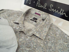 """PAUL SMITH Mens Shirt 🌍 Size 17.5"""" (CHEST 44"""") 🌎RRP £95+📮FLORAL LIBERTY STYLE"""