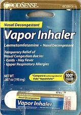 Goodsense Nasal Decongestant Vapor Inhaler 0.007 Oz. (Compared To Vicks)