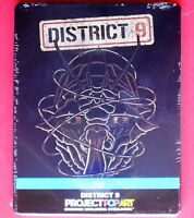 blu ray steelbook metal box limited edition district 9 distretto 9 jason cope id