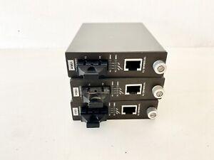 Lote De 3 planet Smart Media Convertidor 10/100Base-TX A 100Base-FX, wft-802s15