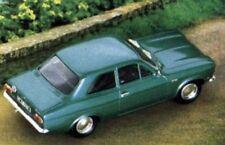 TROFEU 502 & 506 FORD ESCORT Mk.1 model road car Jade green 1968 & red 1971 1:43