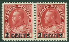 EDW1949SELL : CANADA 1926 Unitrade #139 pair Very Fine Mint NH PO Fresh Cat $400