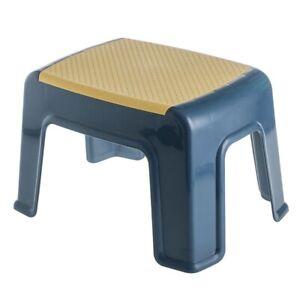 Children Unisex Household Plastic Small Stool Living Room Non-slip Bath Bench