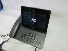 Cisco VoIP Office Phone Desktop SIP IP Color Touchscreen dx650