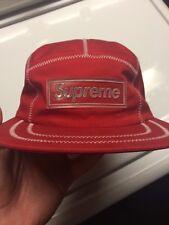 Supreme Camp Cap 100% Authentic
