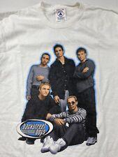 RARE Vintage Vtg Backstreet Boys 1999 Tour Tee T-Shirt Youth Large L (02)