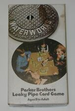 Vintage 1972 Parker Brothers Leaky Pipe Card Game WATER WORKS Complete w Box