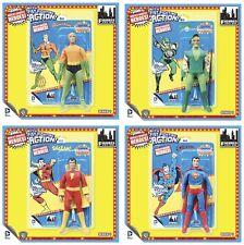 "DC SUPER POWERS ""fist fighter"" Figures Series 1 Retro Mego Set of 4 MOC! AQUAMAN"