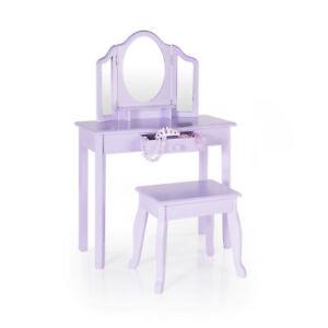 Vanity & Stool - Lavender