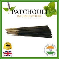 💚 PATCHOULI Incense Sticks Handmade Indian Bamboo Joss Premium Fragrance Smell