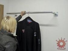 Kleiderständer 800mm lang Kleiderstange Wandstange Kleiderbügel 0080B