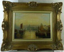 William Edward Webb, Hafeneinfahrt von Venedig,Santa Maria della Salute,vor 1900